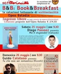 Book&Breakfast: due incontri con Diego Passoni e Guido Catalano