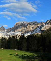 Martina Iori quintetto al Passo San Pellegrino