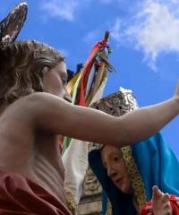 Pasqua a Modica e la tradizione della Madonna Vasa Vasa