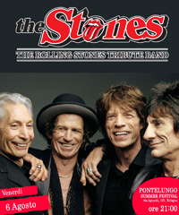 The Stones (Rolling Stones Tribute band) in concerto