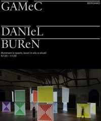Bergamo ospita la mostra del celebre artista francese Daniel Buren