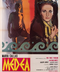 A Grado una mostra per i 50 anni dal film Medea di Pasolini