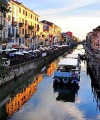 La città a colori nel quartiere Ticinese e Navigli, incontro virtuale