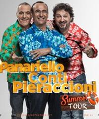 Panariello, Conti e Pieraccioni: torna il tour del trio toscano