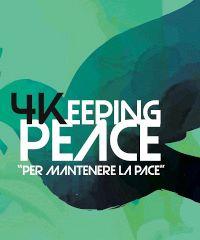 4Keeping Peace: tre incontri in diretta con Alejandro Mendoza