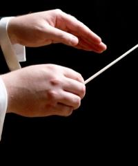 Il Maestro Riccardo Muti dirige