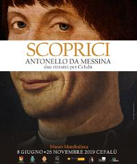"""Arriva la mostra """"Scoprici, Antonello da Messina. Due ritratti per Cefalù"""""""