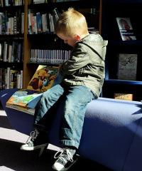 Laboratorio di lettura per bambini di 3-4 anni