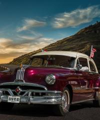 Raduno di auto americane a Venzone