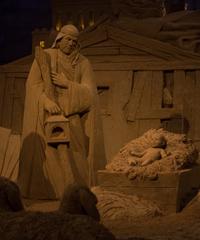 Ritorna il grande Presepe di Sabbia di Lignano Sabbiadoro
