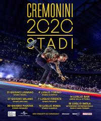 Cesare Cremonini: rinviato al 2021 il tour negli stadi