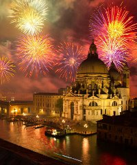 Festa del Redentore ed è magia a Venezia