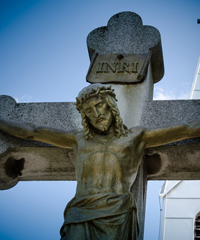 Scala Santa, processione Via Crucis