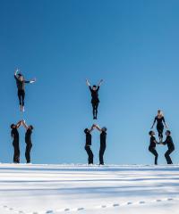 In scena lo show acrobatico