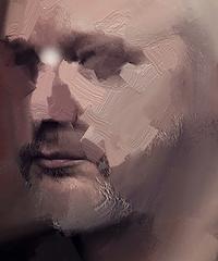 "Mostra in digitale ""Condizione Assange. Quaranta ritratti di Miltos Manetas"""