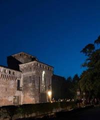 Le meraviglie del Castello si illuminano di notte