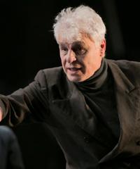 Michele Placido sul palco con