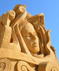 Tornano le sculture di sabbia a Jesolo