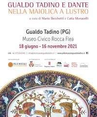 Gualdo Tadino e Dante nella maiolica a lustro