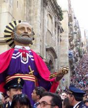 La Processione del Cristo morto e A' Giunta