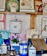 Bric à brac: mercatino dell'antiquariato e dell'artigianato