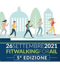 Fitwalking for AIL in Valle d'Aosta