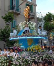 Festeggiamenti in onore di S. Antonio a Messina