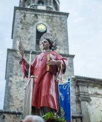 La festa patronale di San Lorenzo a Torre Orsaia