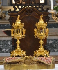 ANNULLATO - Ostensione Sacri Vasi in Sant'Andrea, una giornata di spiritualità