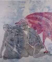 Le opere dell'artista e attivista curda Zehra Dogan in mostra