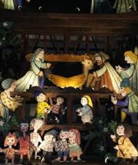 Il Presepe di Emanuele Luzzati al Borgo Medievale