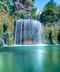 Pasquetta all'interno di Villa d'Este a Tivoli