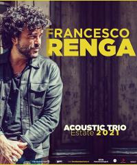 Francesco Renga torna in tour con un concerto acustico