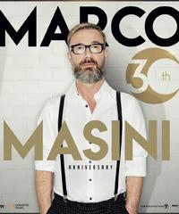 Marco Masini celebra 30 anni di carriera