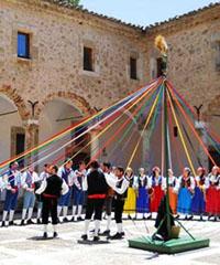 Rievocazione dell'antico corteo nuziale e Ballo Pantomima della Cordella