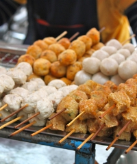 Street food and beer