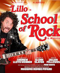 Lillo in 'School of Rock', il musical