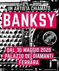 Oltre 100 pezzi originali di Banksy in mostra a Ferrara