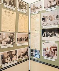 """La mostra """"Storia del Centro Majorana"""" all'Istituto Blackett"""