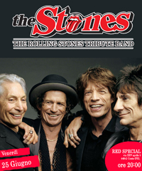 The Stones, The Rolling Stones Tribute Band in concerto