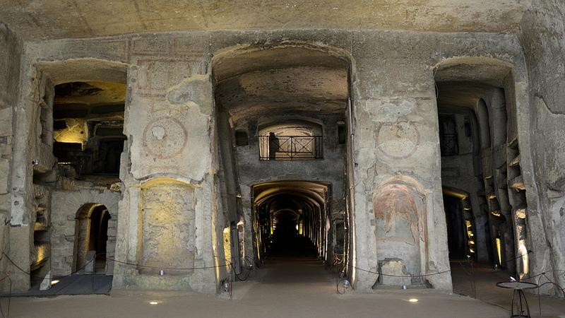 catacombe in italia