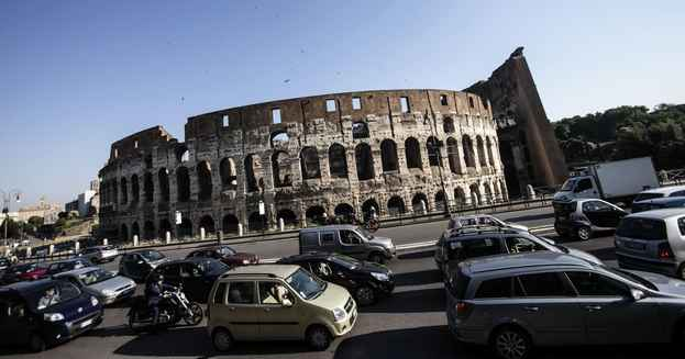 traffico a roma, come destreggiarsi
