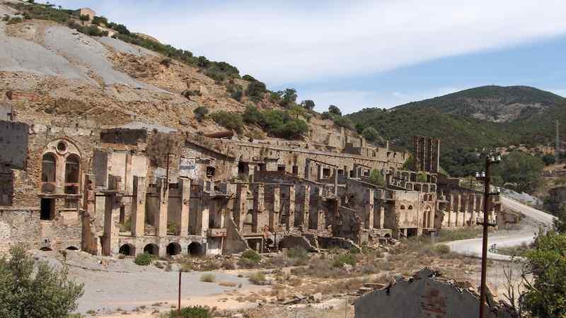 archeologia industriale - parco sulcis