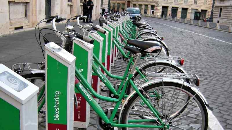 bike sharing roma