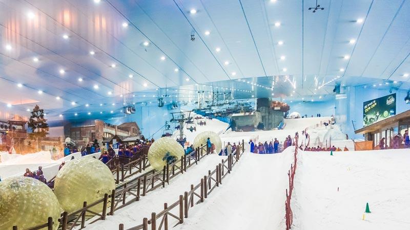 A Milano il progetto della prima pista da sci indoor in Italia