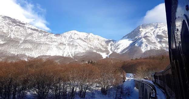 In Abruzzo la ferrovia più alta d'Italia