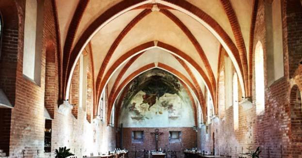 Cucine e refettori più belli nelle abbazie e monasteri d'Italia