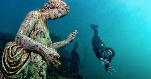 Parco sommerso di Baia: una piccola Atlantide napoletana
