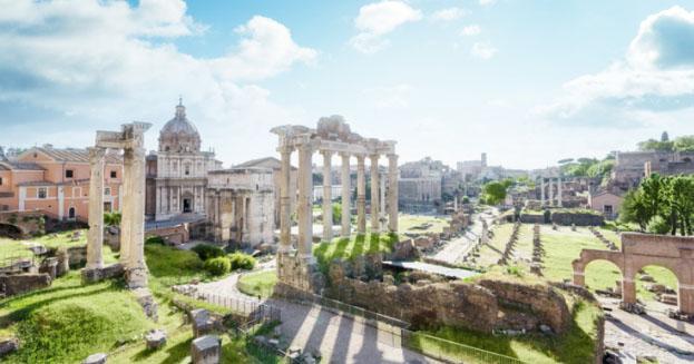 Scoperta a Roma una piccola Pompei