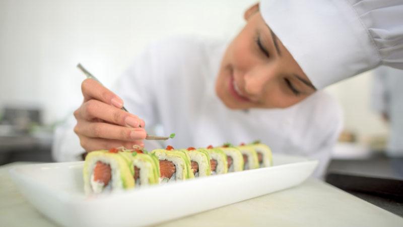 a Napoli la prima scuola italiana di cucina giapponese professionale